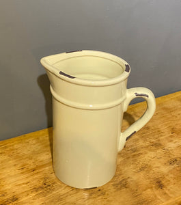 Cream Ceramic Jug
