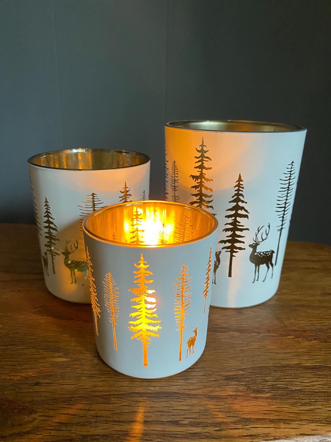 Winter Wonderland Votives