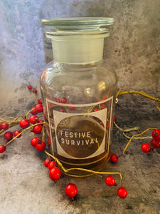 Festive Survival Decanter