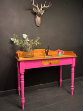 Load image into Gallery viewer, Flamboyant Pink Dressing Table
