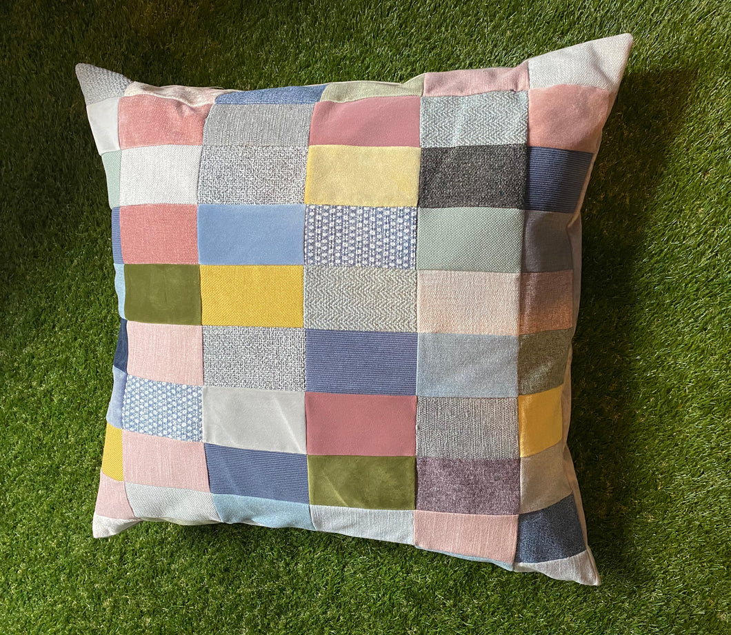 Large Patchwork Floor Cushion