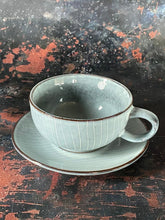 Load image into Gallery viewer, Nordic Sea cup and saucer