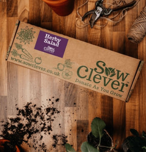 Sow Clever Herb Salad