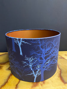 Funky tree branch lampshade