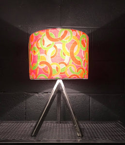 60s Fabric Lampshade