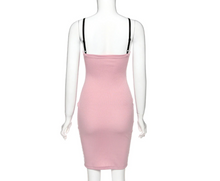 Load image into Gallery viewer, Ribbed Bodycon Dress