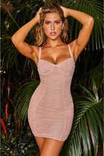 Load image into Gallery viewer, Glitter Bodycon Dress