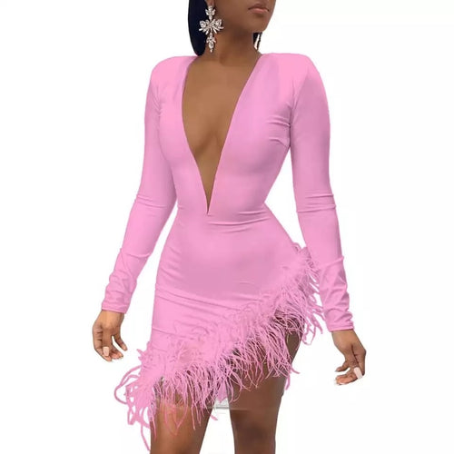Roxy Snow Dress (Pink)