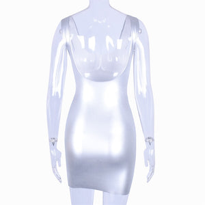 Silver Matrix Dress