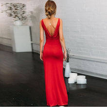 Load image into Gallery viewer, Elegant High Split Dress