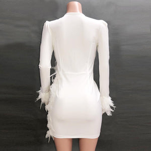 Angelica Dress (White)
