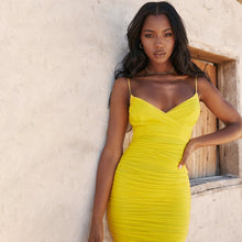 Load image into Gallery viewer, Sunshine Bodycon Dress