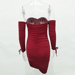 Porsha Party Dress (Red)