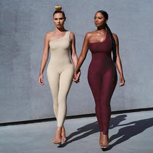 Load image into Gallery viewer, Allure Jumpsuit (Nude)