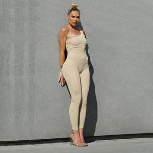 Allure Jumpsuit (Nude)