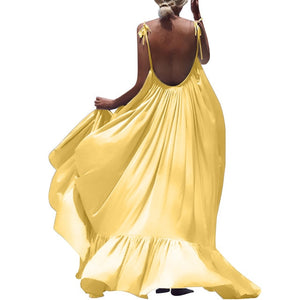 Maxi Summer Dress (Yellow)