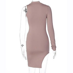 Miss Allure Dress (Nude)