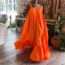 Load image into Gallery viewer, Summer Maxi Dress (Orange)
