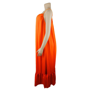 Summer Maxi Dress (Orange)