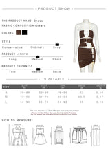 Load image into Gallery viewer, Star Party Dress (Brown)