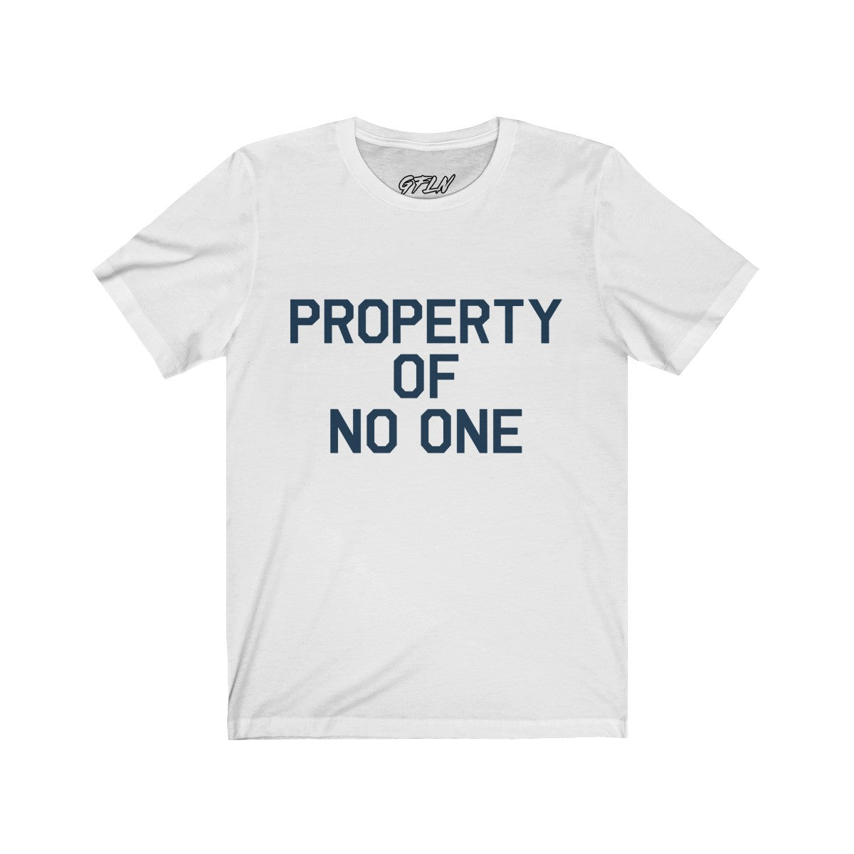 Property Of No One Unisex Jersey Tee