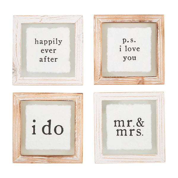 Wedding Coaster Set