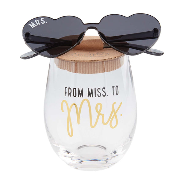 Bride Wine & Sunglasses Set