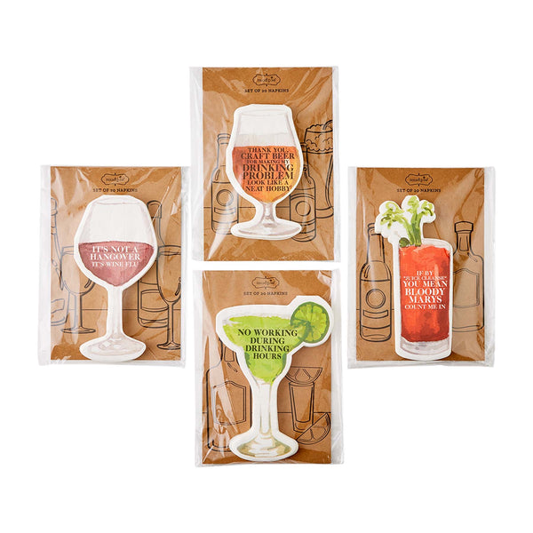 Drink Paper Napkin Sets