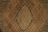"22132 - Tabriz Handmade/Hand-Knotted Persian Rug/Carpet Authentic/Size 9'7"" x 6'4"""