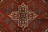"22587 - Meymeh Hand-Knotted/Handmade Persian Rug/Carpet Tribal/Nomadic Authentic/Size 14'7"" x 11'1"""