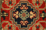 "22344 - Kazak Hand-Knotted/Handmade Afghan Tribal/Nomadic Authentic/Size 9'6"" x 2'5"""