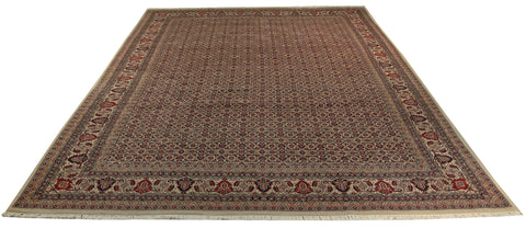 22575 - Bidjar Hand-Knotted/Handmade Indian Rug/Carpet Traditional Authentic