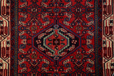 22202 - Hamadan Hand-Knotted/Handmade Persian Rug/Carpet Traditional Authentic