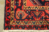 "22176 - Hamadan Hand-Knotted/Handmade Persian Rug/Carpet Traditional Authentic/Size 5'2"" x 3'5"""