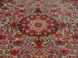 15501-Bidjar Hand-Knotted/Handmade Persian Rug/Carpet Traditional Authentic