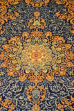 14439-Isfahan Hand-Knotted/Handmade Persian Rug/Carpet Traditional Authentic