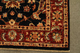 "22294 - Chobi Ziegler Hand-Knotted/Handmade Afghan Rug/Carpet Modern Authentic/Size 4'3"" x 2'8"""