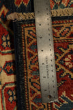 22451 - Kazak Hand-Knotted/Handmade Afghan Tribal/Nomadic Authentic