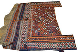 15137-Ghashgai Horse Blanket Hand-Knotted/Handmade Persian Rug/Carpet Tribal/Nomadic Authentic