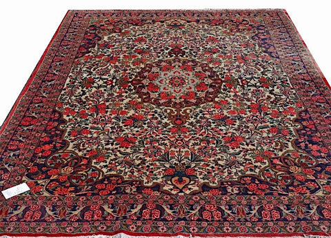 15501-Bidjar Hand-Knotted/Handmade Persian Rug/Carpet Traditional Authentic     10'0'' x 7'0''