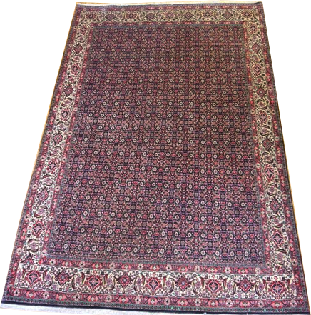 "15604-Bidjar Hand-Knotted/Handmade Persian Rug/Carpet Tribal/Nomadic Authentic 9'11""x6'7"""
