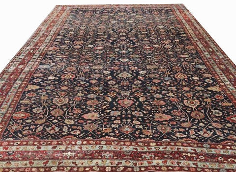 15670-Bidjar Hand-Knotted/Handmade Persian Rug/Carpet Traditional Authentic