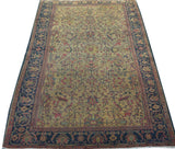17839-Tabriz Hand-Knotted/Handmade Persian Rug/Carpet Traditional Authentic