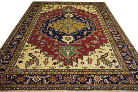 "19363-Royal Shirvan Handmade/Hand-knotted Afghan Rug/Carpet Tribal/Nomadic Authentic10'2"" x 7'8"""