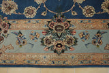 19419-Isfahan Hand-Knotted/Handmade Persian Rug/Carpet Traditional Authentic