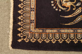 22228 - Kashan Handmade/Hand-Knotted Persian Rug/Carpet Authentic