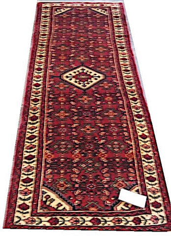 20460-Hamadan Hand-Knotted/Handmade Persian Rug/Carpet Tribal/Nomadic Authentic
