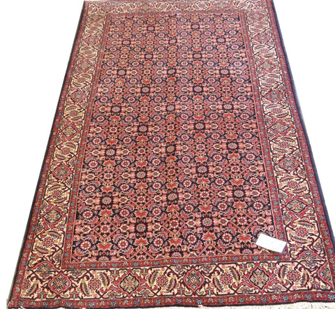 20820-Bidjar Handmade/Hand-Knotted Persian Rug/Carpet Authentic
