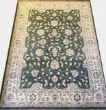 21072-Chobi Ziegler Hand-knotted/Handmade Afghan Rug/Carpet Traditional Authentic