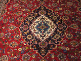21702 - Kashan Hand-Knotted/Handmade Persian Rug/Carpet Traditional Authentic